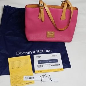 Dooney & Bourke Small Hanna in Hot Pink